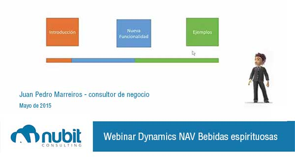 webinar Dynamics NAV sector de bebidas alcohólicas