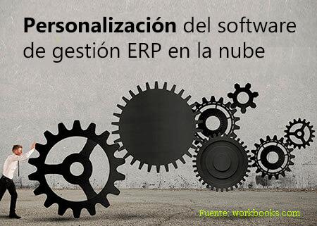 personalización software gestión ERP en la nube