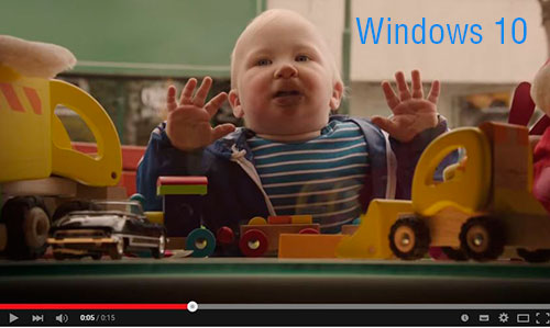 windows 10 vídeos