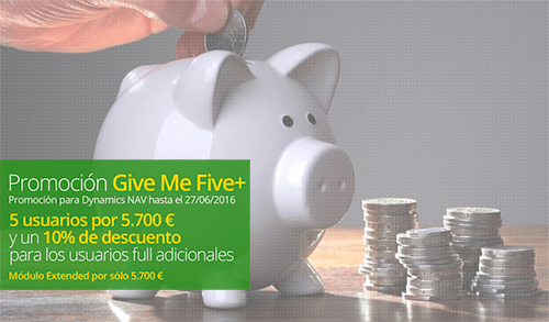 promo Give Me Five