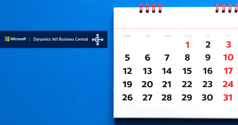 actualizacion abril 2019 business central